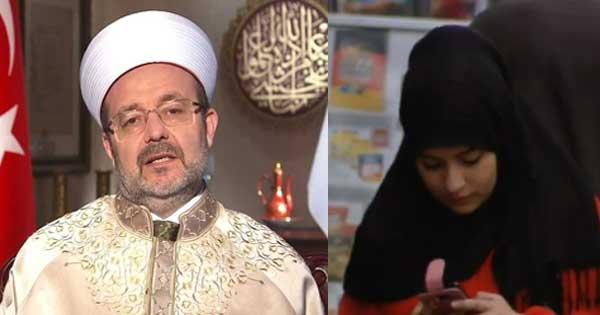 Diyanet maxima autoridad musulmana en Turquia y un cerdo animal pedofilo e incestuoso
